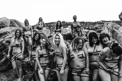 "These ""Censored"" Women Posed Together In Protest Of Facebook's Nudity Rules"