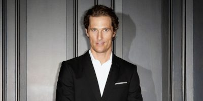 Matthew McConaughey's Secret Of Happy Relationships