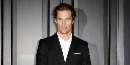 Matthew McConaughey's Secret Of Happy Relationships