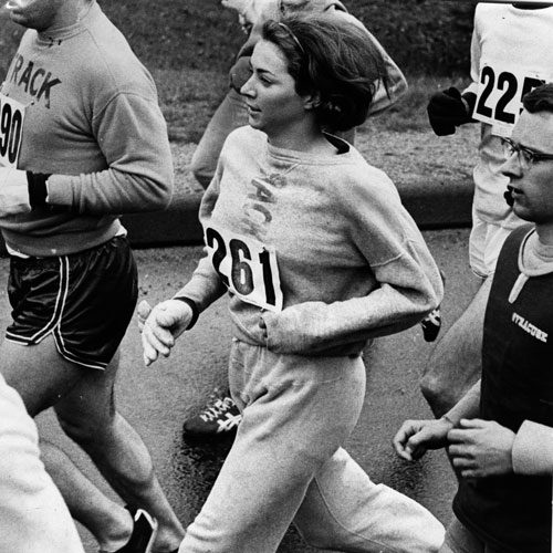 First Woman To Run The Boston Marathon Competes 50 Years Later
