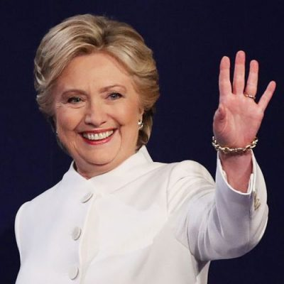 Hillary Clinton Returns To Fund The Resistance