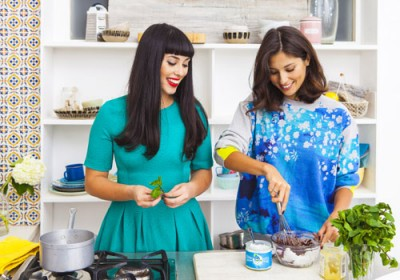Hemsley + Hemsley: 'It's not about being slim'